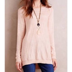 Anthropologie Sz L Knitted & Knotted Knit Tunic